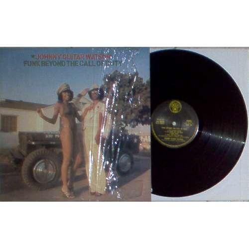 Johnny Guitar Watson FUNK BEYOND THE CALL OF DUTY (ITALIAN 1977 7-TRK LP FULL PS-UNPLAYED COPY!!)