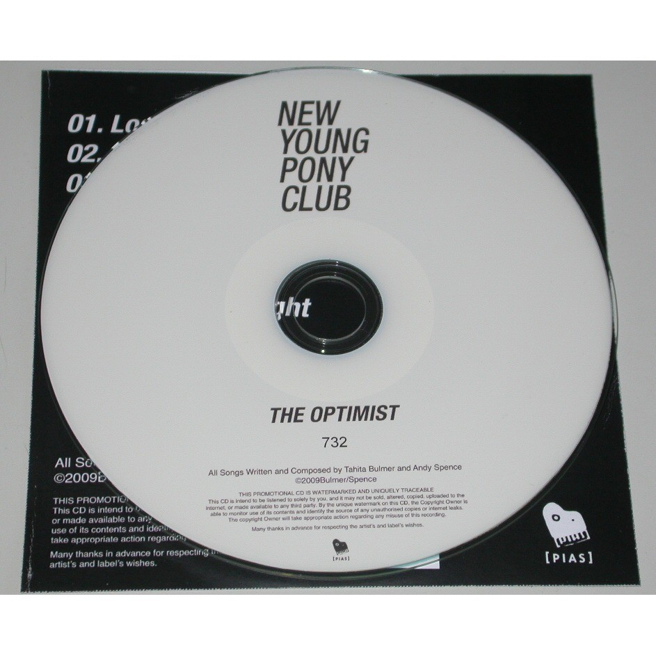 New Young Pony Club The Optimist (promo)