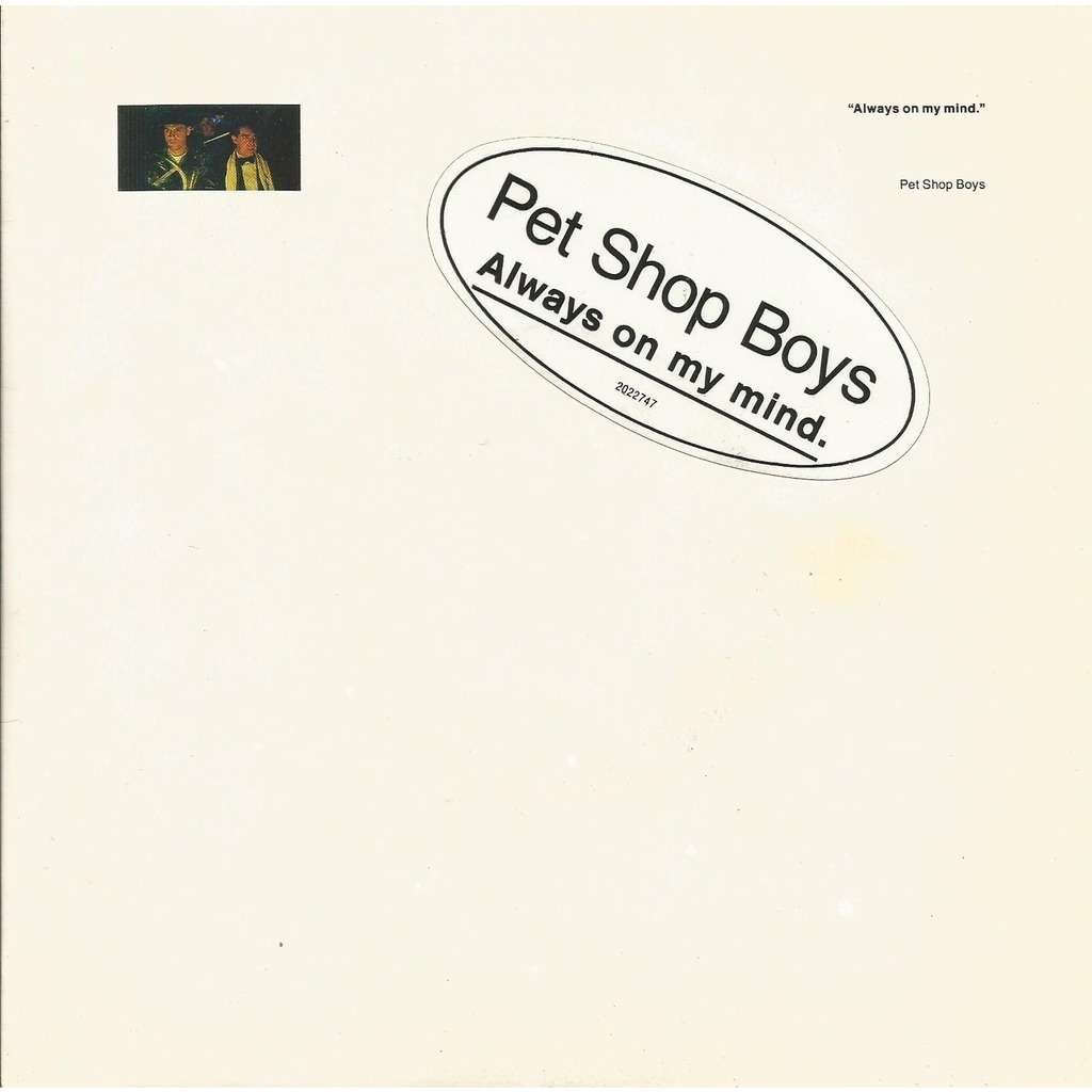 Always On My Mind Do I Have To By Pet Shop Boys Sp