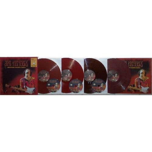 Jimi Hendrix ALTERNATE MASTER TAPES (LTD 400 COPIES ISSUE 4LP COLOR VINYL+3CD DELUXE BOX+BOOKLet box)