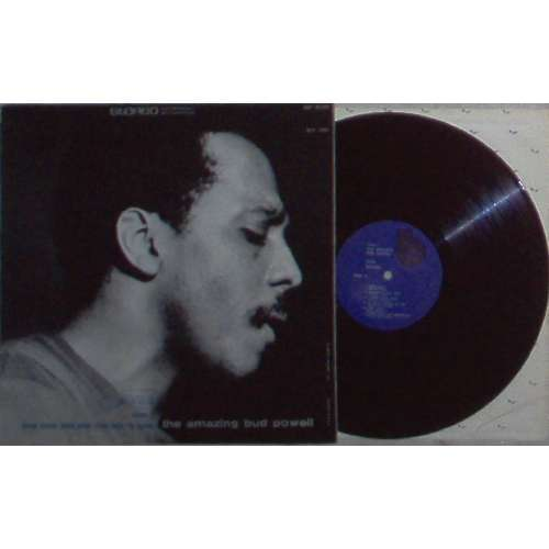Bud Powell THE AMAZING BUD POWELL VOL.2 (USA ORIGINAL 12-TRK LP ON BLUE NOTE LBL STRONG CARD ps)