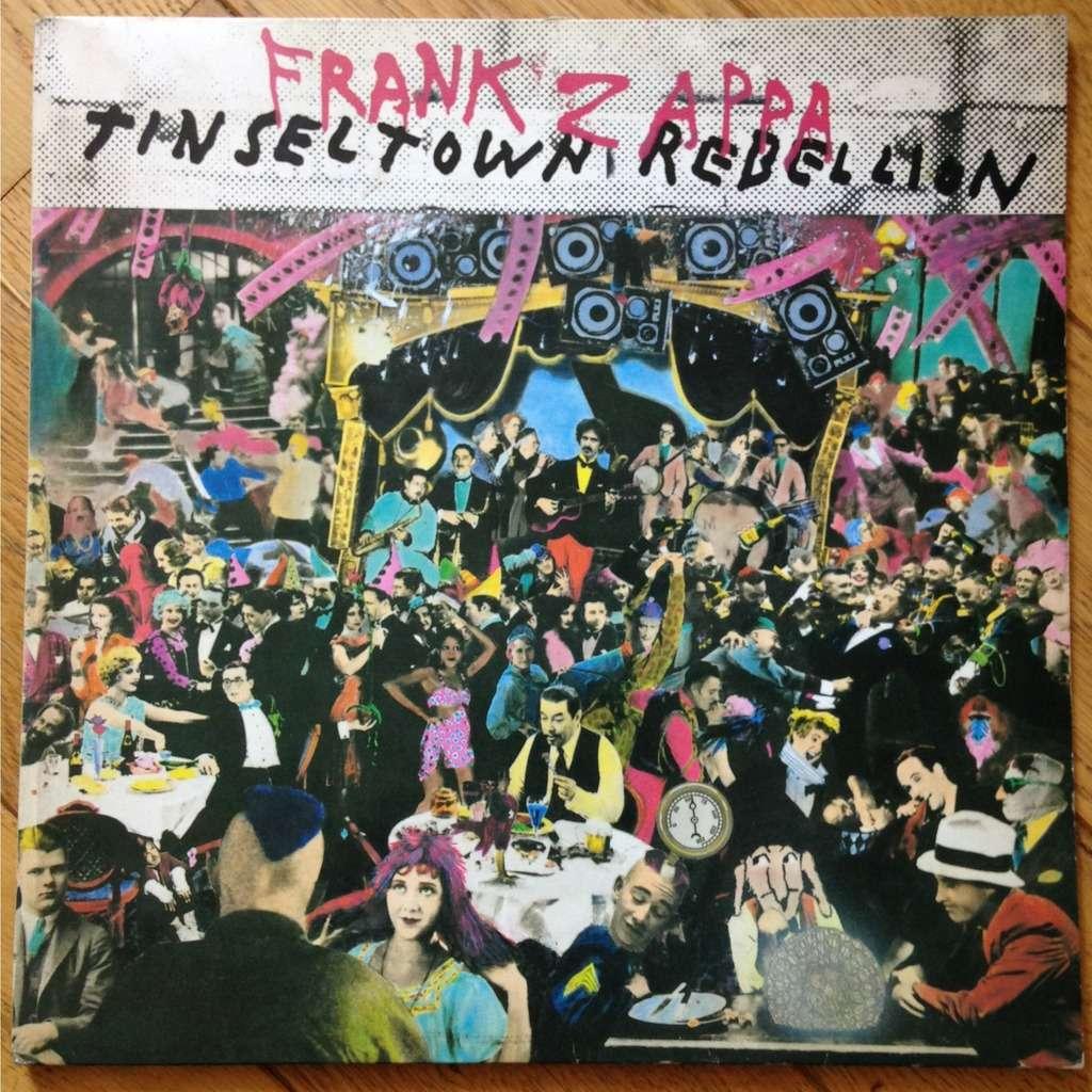 Tinsel Town Rebellion By Frank Zappa Double Lp Gatefold