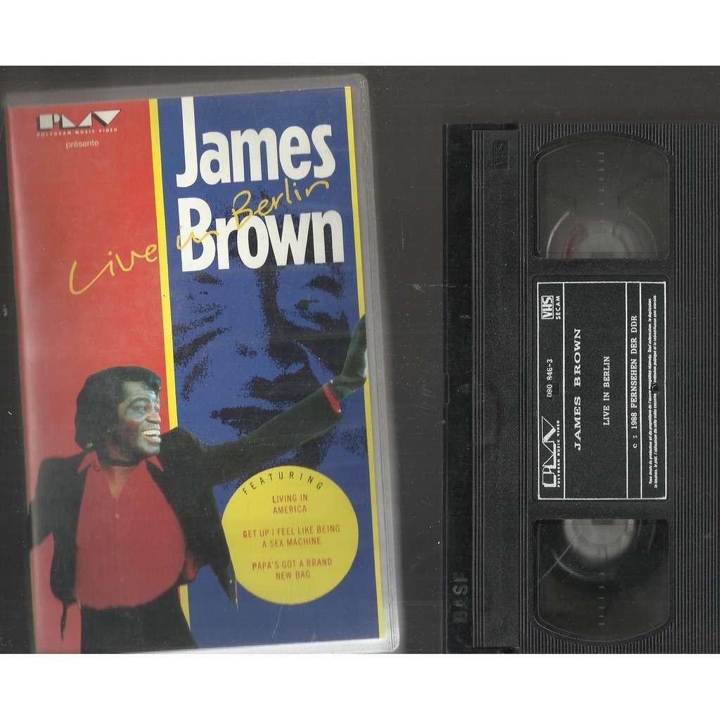 James BROWN live in berlin