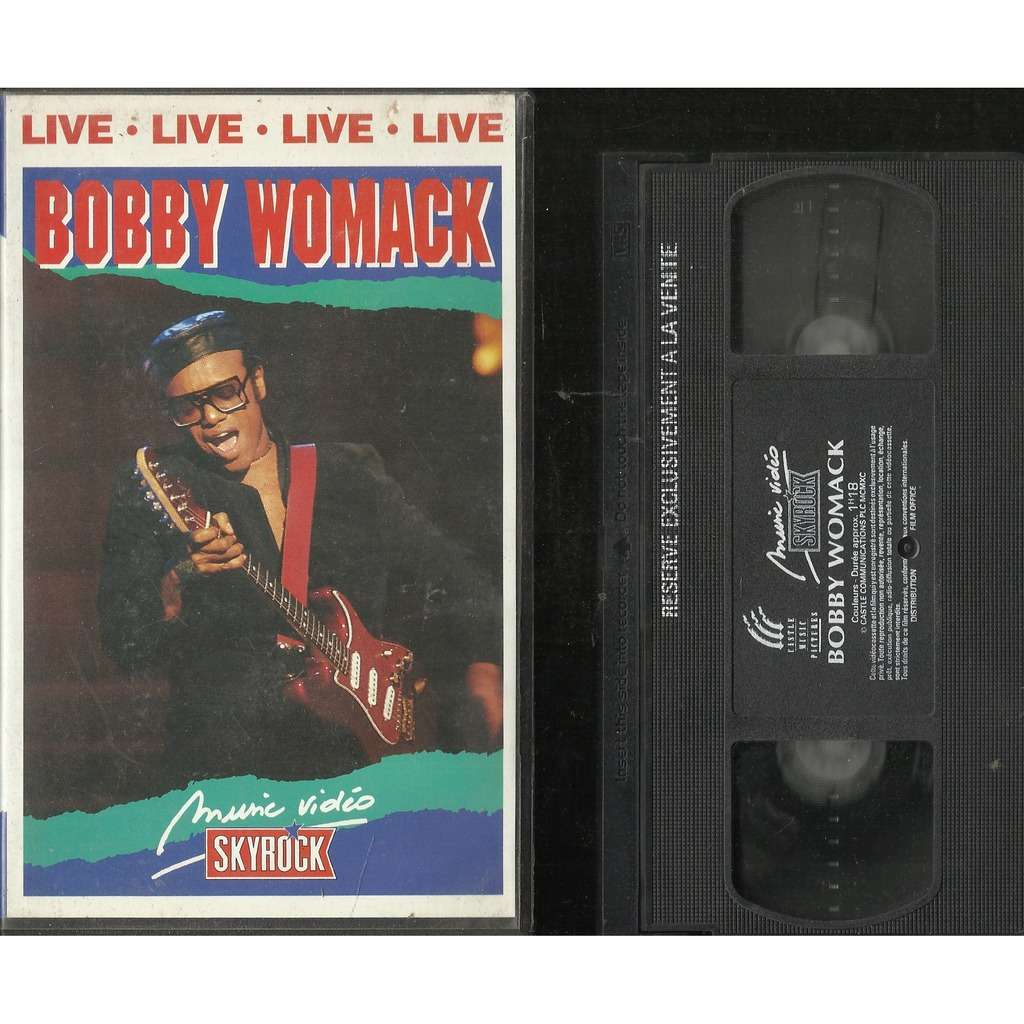 Bobby Womack LIVE LIVE LIVE