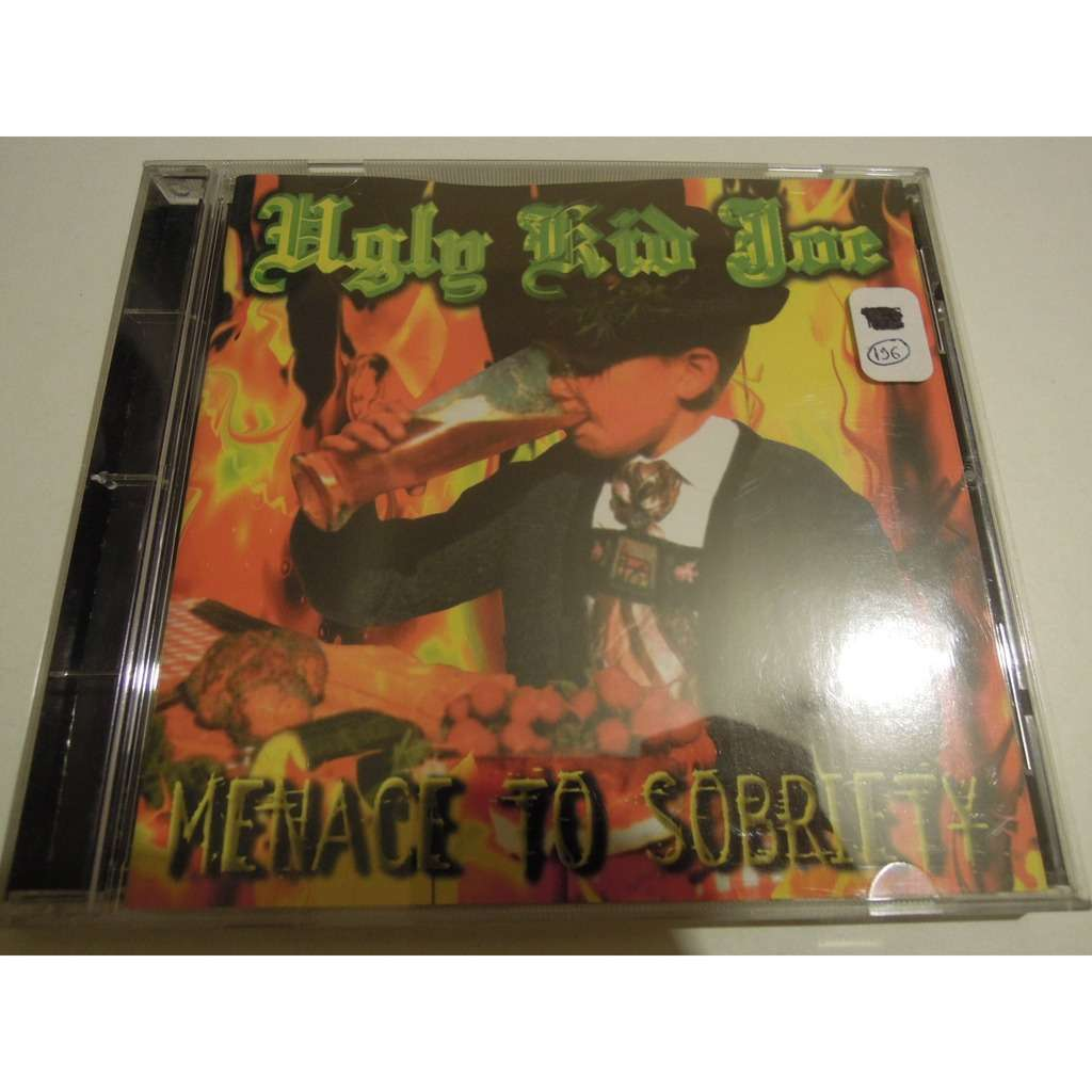 Menace To Sobriety By Ugly Kid Joe Cd With Pitouille