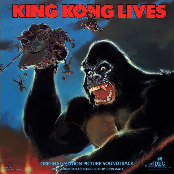 John Scott King Kong Lives