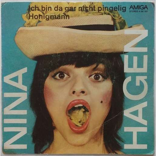 Ich Bin Da Gar Nicht Pingelig Honigmann By Nina Hagen