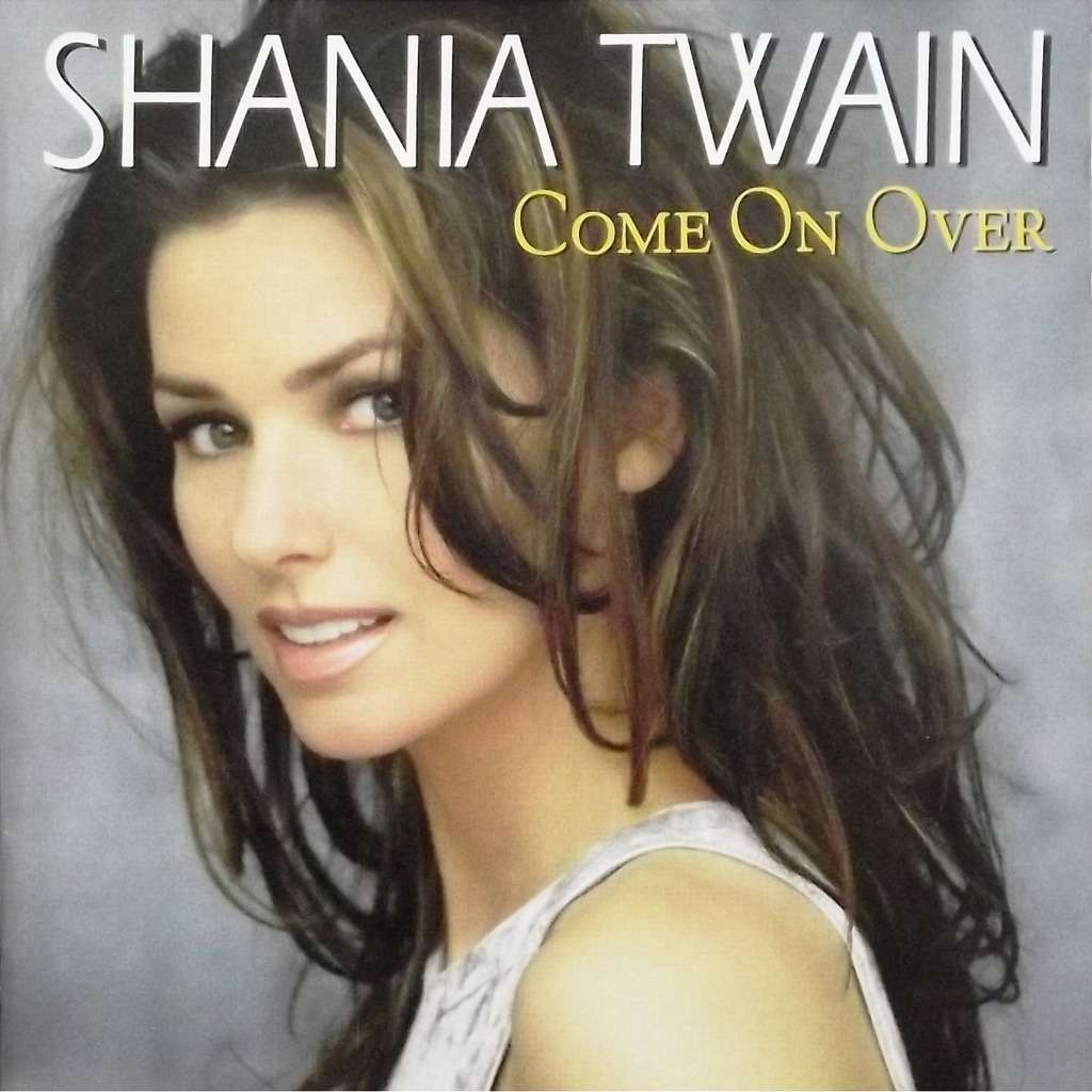 Come On Over Cd 16 Tracks By Shania Twain Cd With