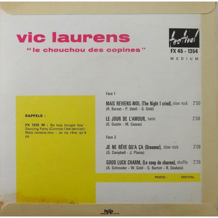 VIC LAURENS MAIS REVIENS-MOI