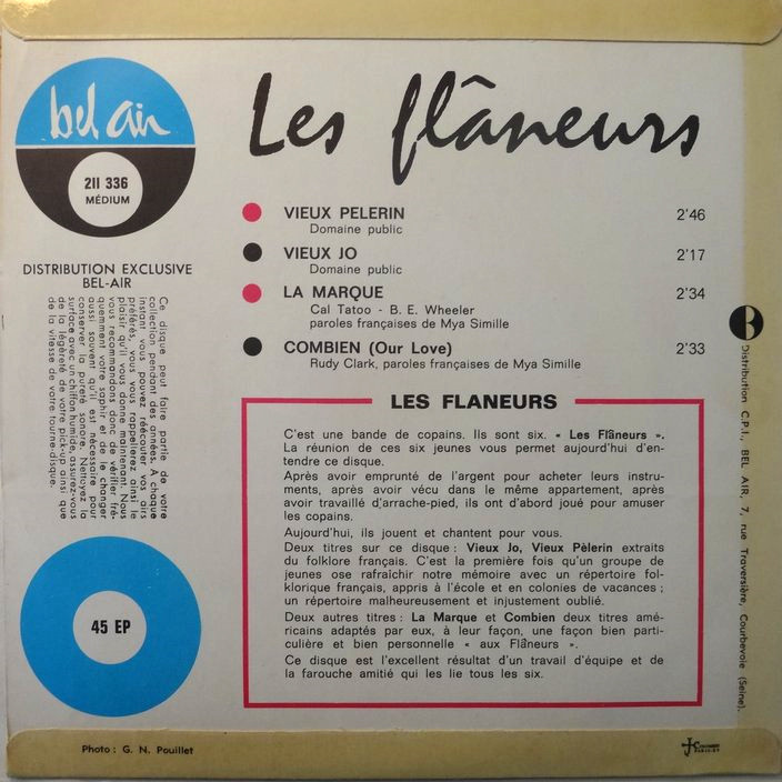LES FLANEURS VIEUX JO