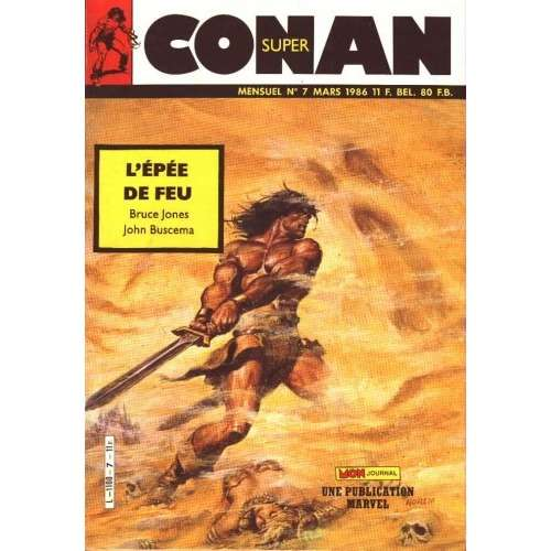 super conan mon journal super conan n°7