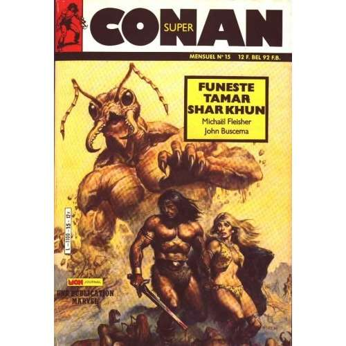 super conan mon journal super conan n°15