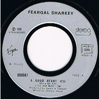 SHARKEY FEARGAL A GOOD HEART / ANGER IS HOLY