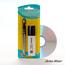 MARQUEUR NOIR + EFFACEUR POUR CD - Marqueur + effaceur pour CD, CD-Rom, DVD, - 50 gr