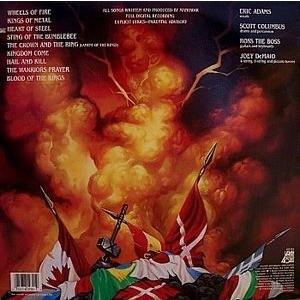Kings Of Metal By Manowar Lp With Beltree Ref 117305431