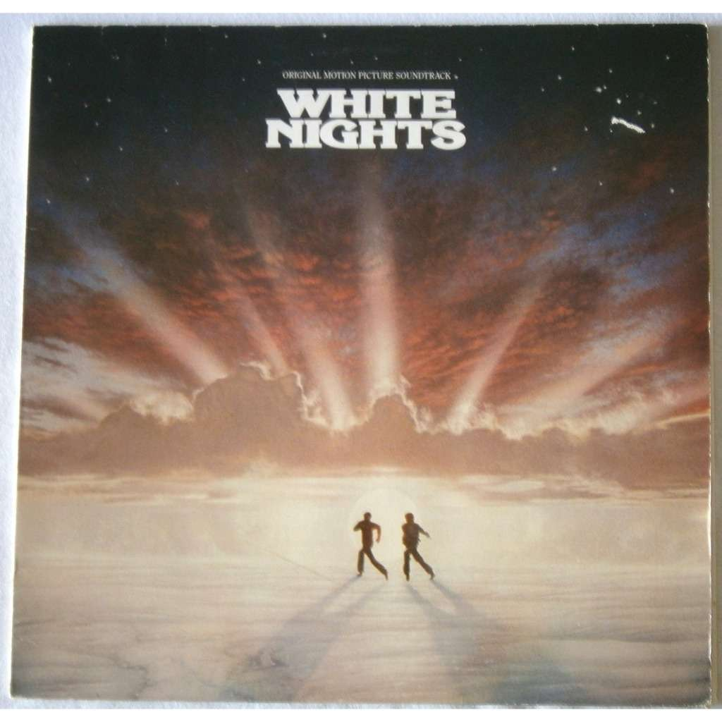 White Nights By Phil Collins And Marilyn Martin Lp With