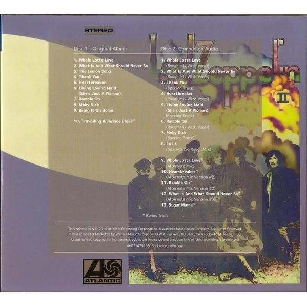 Led Zeppelin Ii By Led Zeppelin Cd X 2 With Techtone11