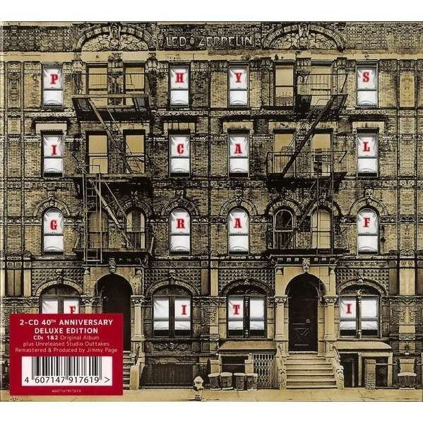 Physical Graffiti By Led Zeppelin Cd X 2 With Techtone11