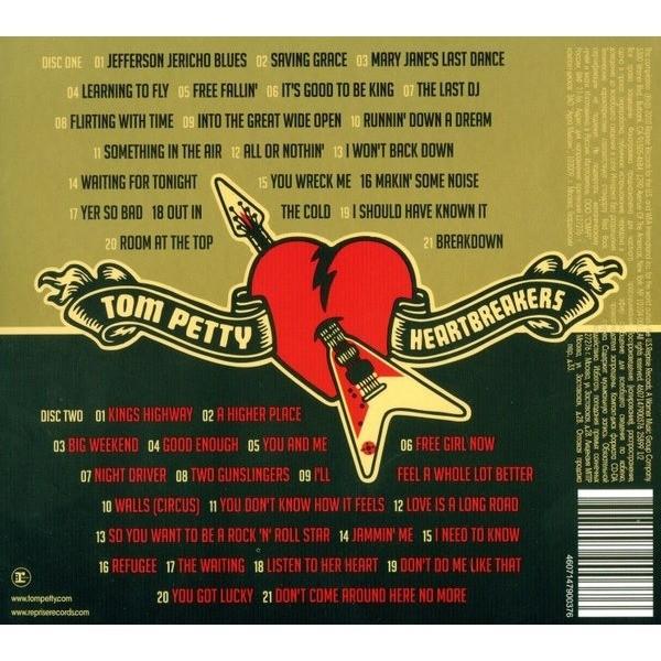 petty tom hits greatest heartbreakers cd
