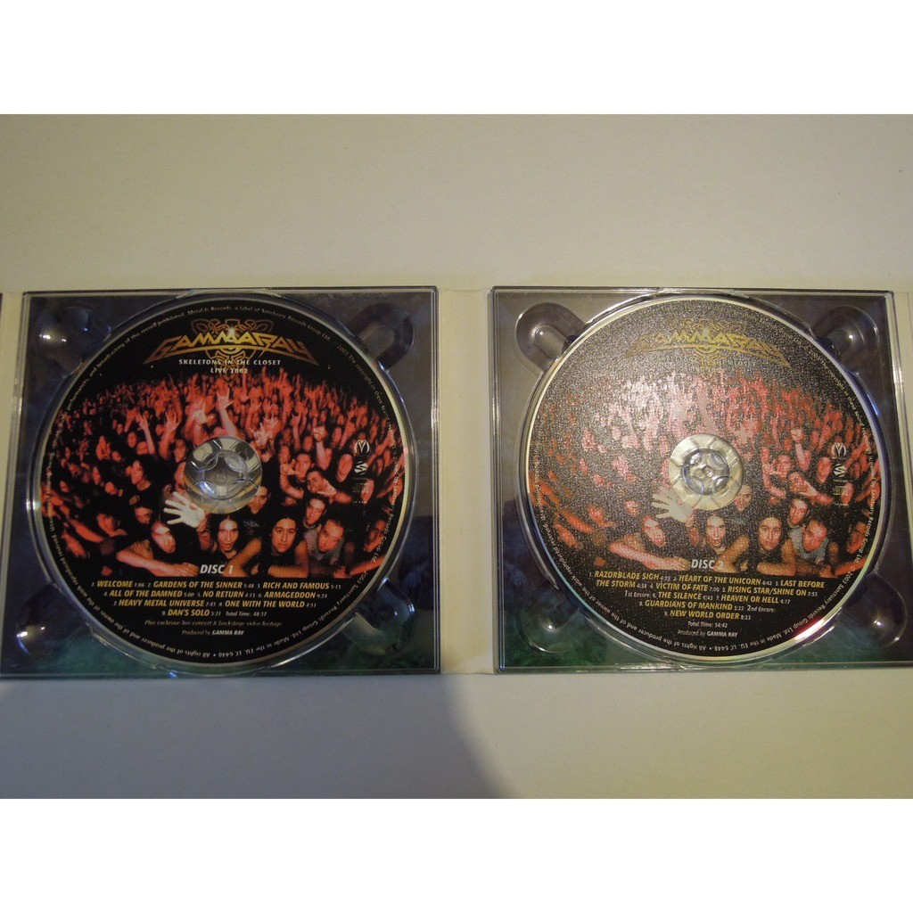 Skeletons In The Closet Gamma Ray Cd2枚 売り手 Pitouille