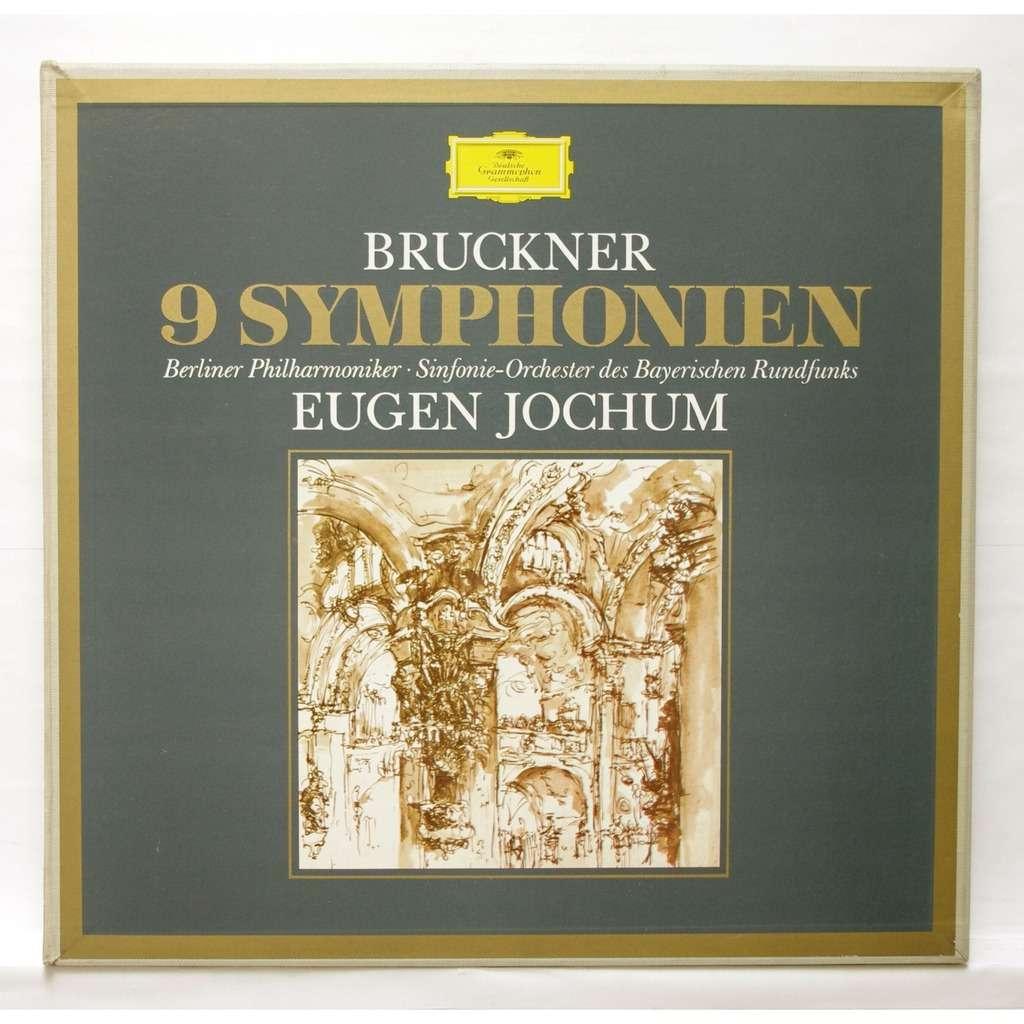 Bruckner 9 Symphonies By Eugen Jochum Lp Box Set With