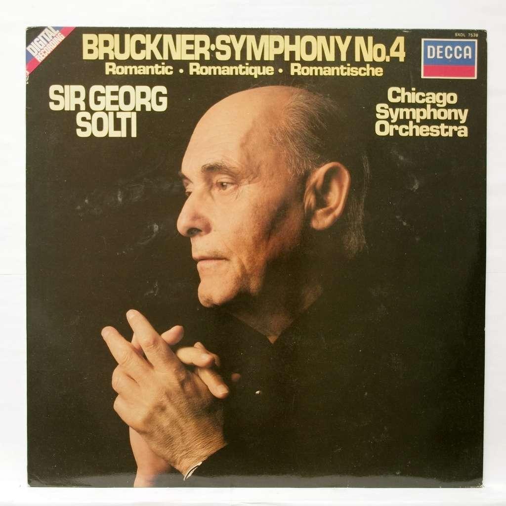 Bruckner Symphony No 4 In E Flat Major By Sir Georg