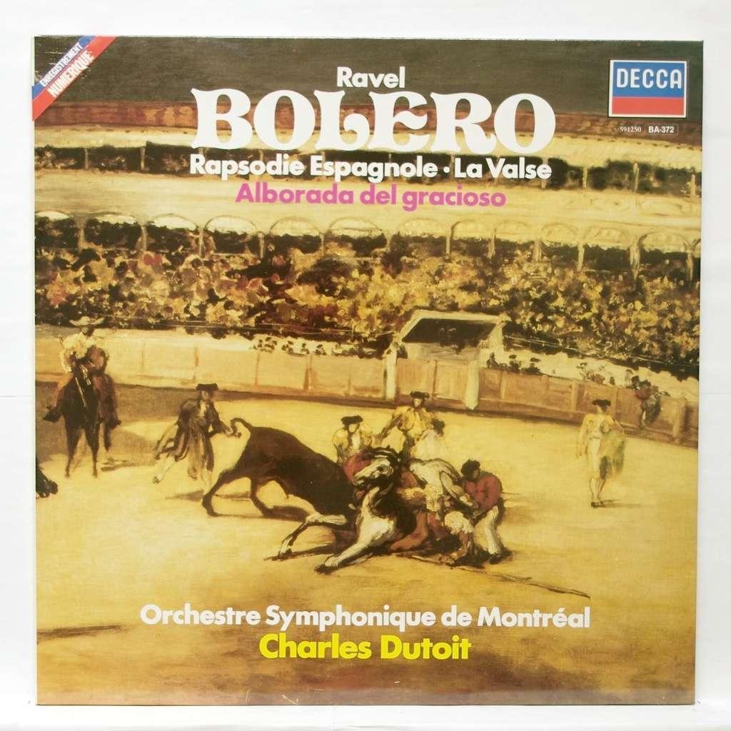 Ravel Bolero Rapsodie Espagnole La Valse By Charles