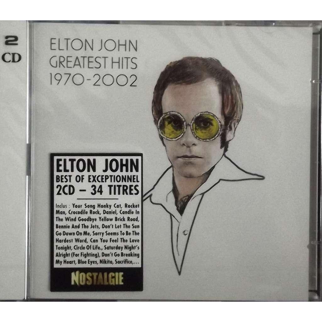 Greatest Hits 1970 2002 2cd 34 Tracks By Elton John Cd