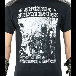 SATANIC WARMASTER strength and honour, T-SHIRT for sale on