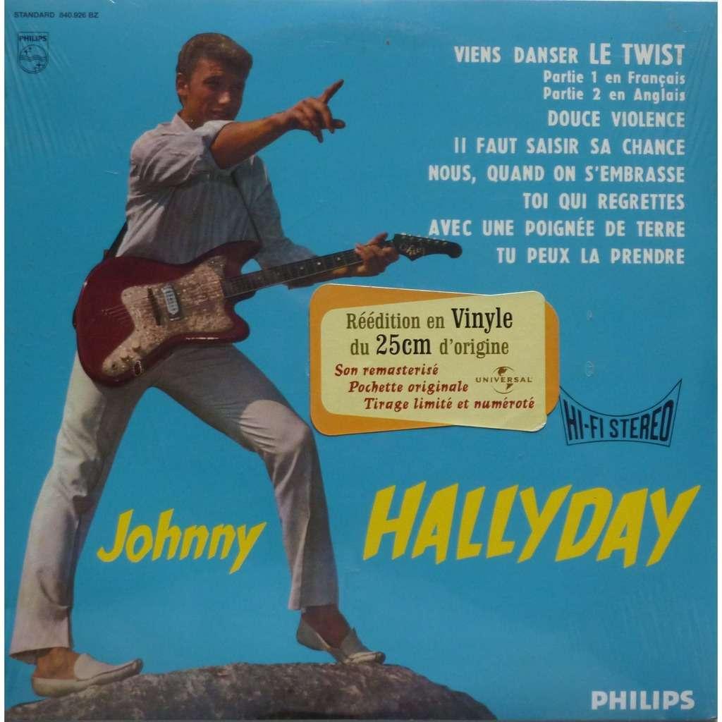 HALLYDAY JOHNNY 1ER 25 CM