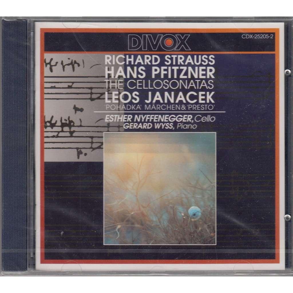 Esther Nyffenegger R.Strauss Cello Sonata, Hans Pfitzner Cello Sonata op.1, Janacek Phadka (Tale) for Cello & Piano
