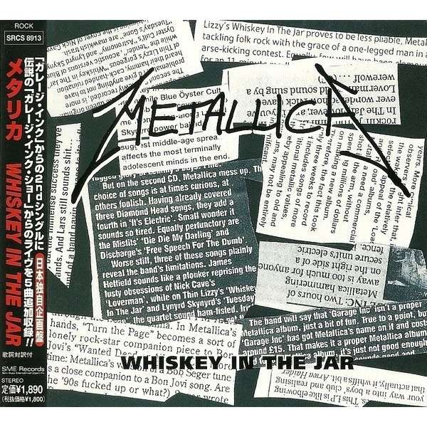 Whiskey In The Jar By Metallica Cd With Marcbass Ref117605686