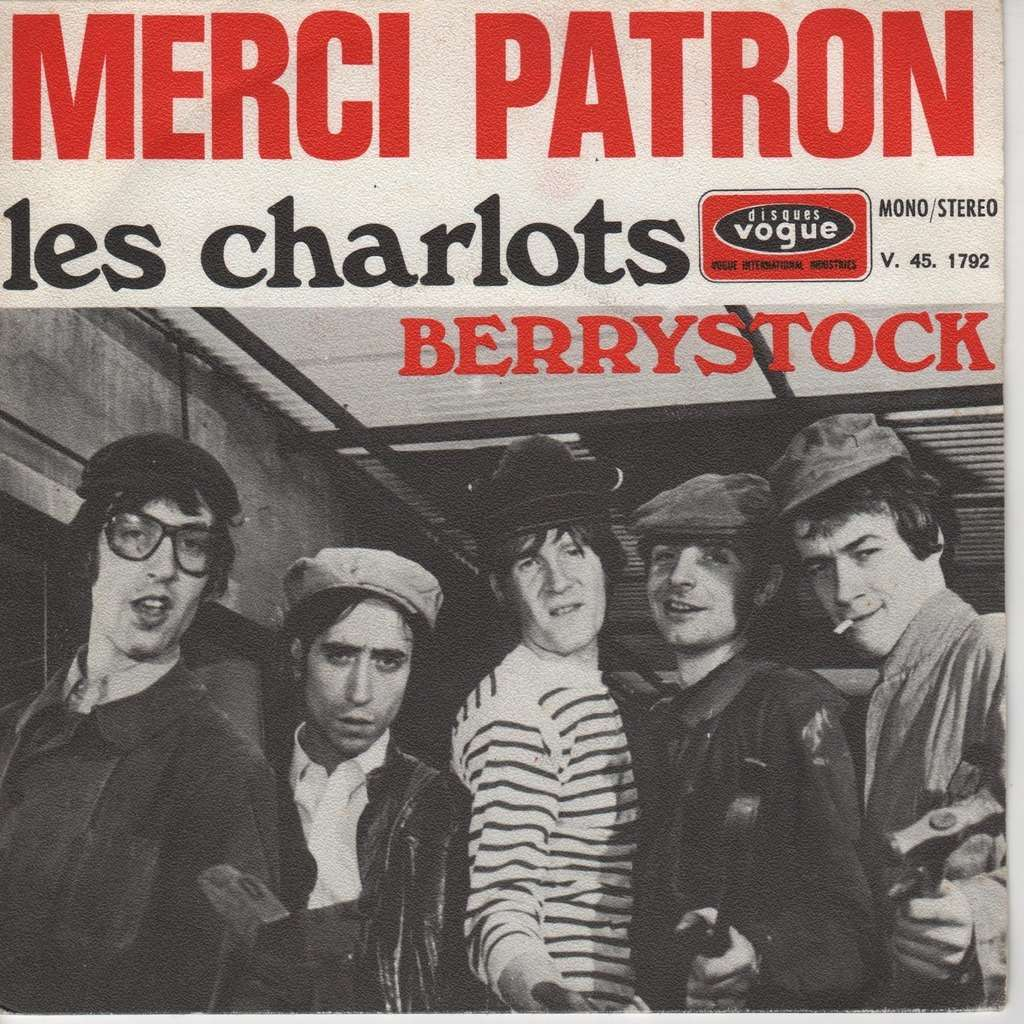 Merci patron de Les Charlots, SP chez charlyx - Ref:117606672