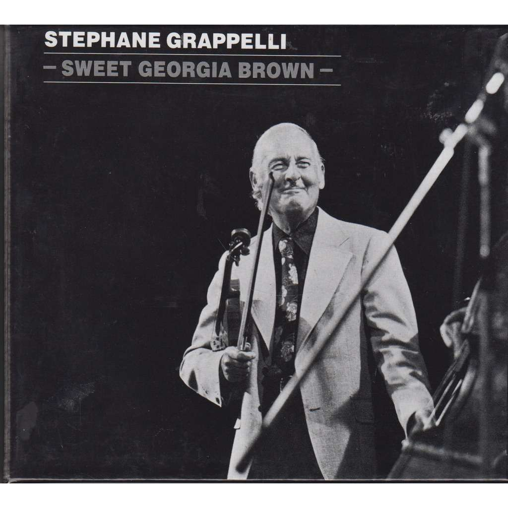 Stephane Grappelli Sweet Georgia Brown Rec.1973 London 3CD BOX