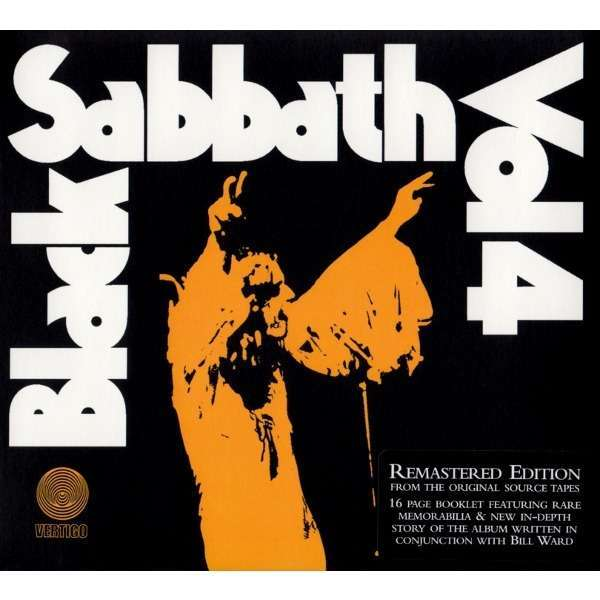 Black Sabbath ‎ Vol 4 (CD) DIGIPACK -E.U
