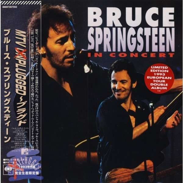 Bruce Springsteen - In Concert / Mtv Unplugged. ( Mini Lp Papersleeve )