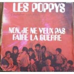 les poppys noël - non je ne veux pas faire la guerre label marron