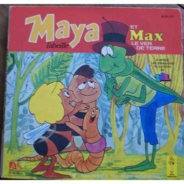 nadine delanoe maya l'abeille et max, le ver de terre livre disque