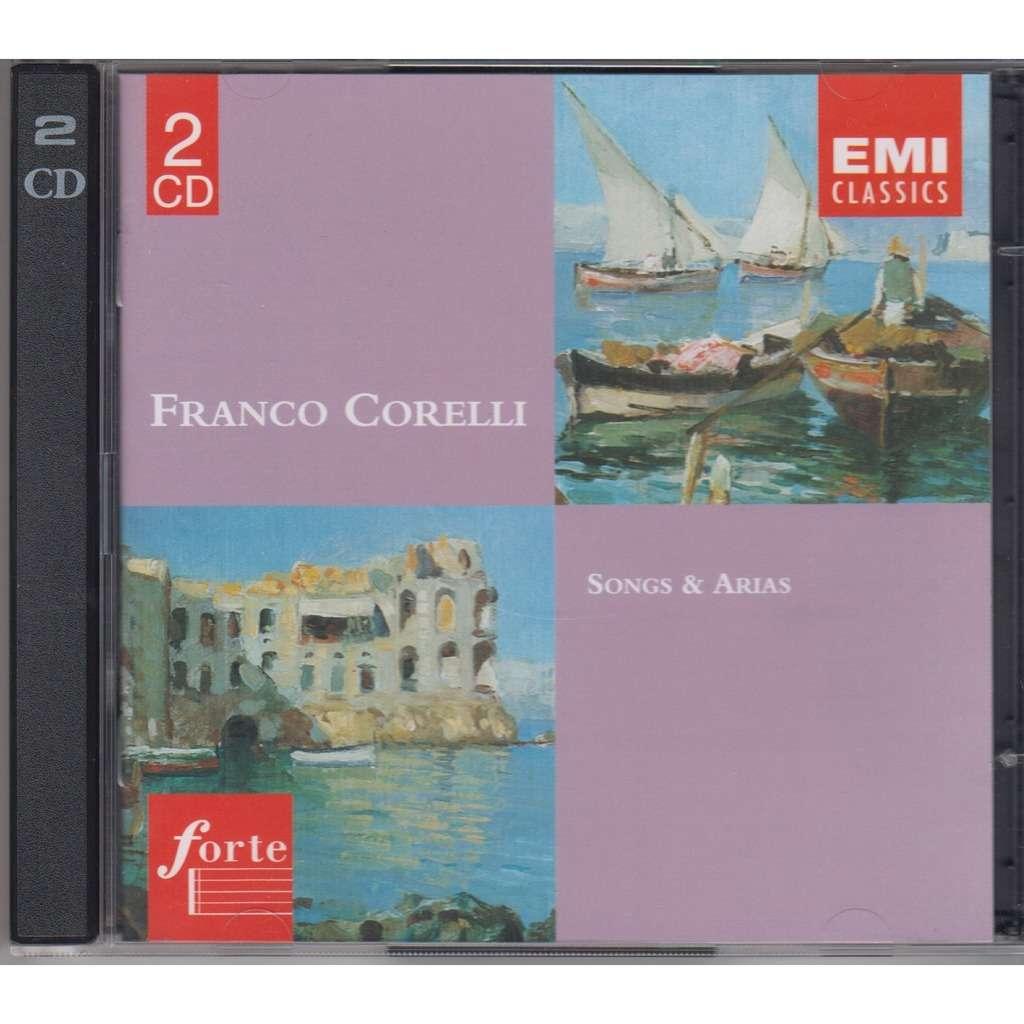 Songs Amp Arias Emi Holland 1996 2cd By Franco Corelli Cd X