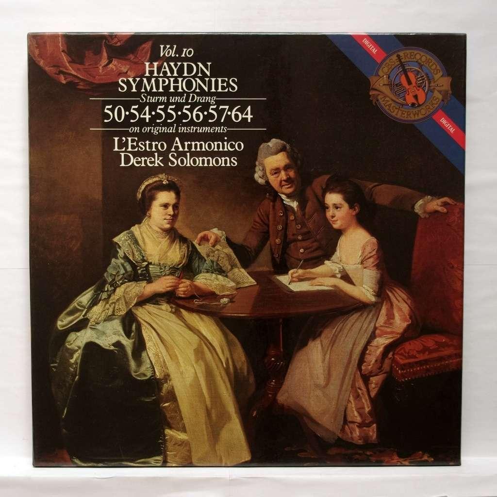 haydn symphonies no 50 54 55 56 57 64 derek solomons