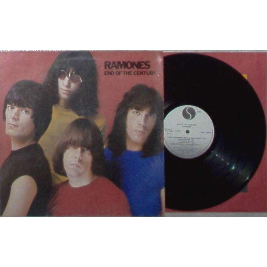 Ramones End of the Century (Italian 1980 12-trk w/label LP promo ps & inner slv)
