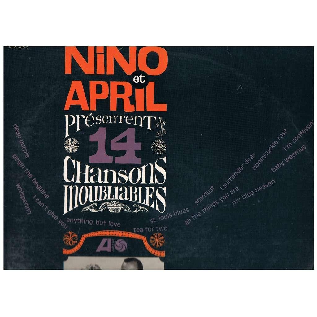 NINO TEMPO & APRIL STEVENS 14 CHANSONS INOUBLIABLES