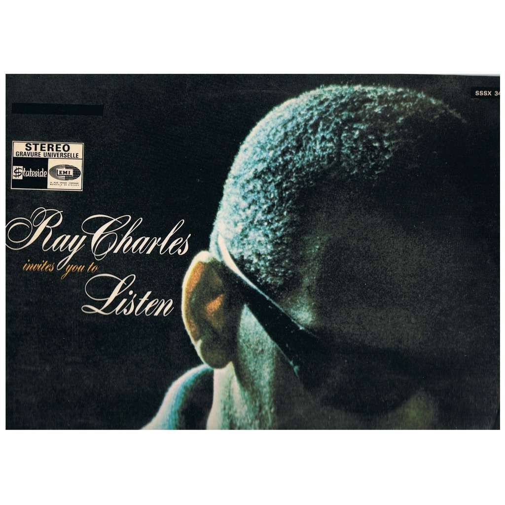 Invites You To Listen With Versindex By Ray Charles Lp With