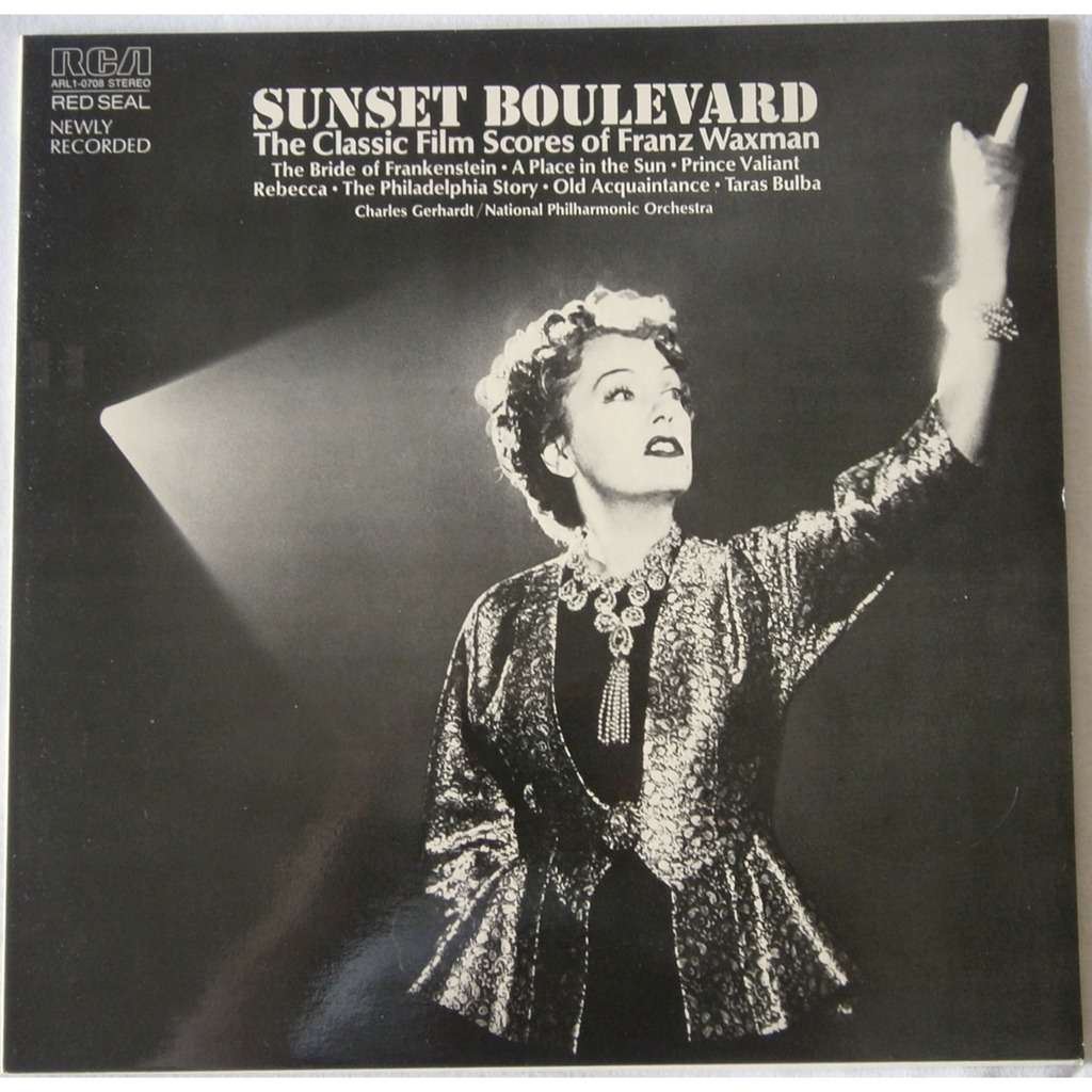 sunset boulevard the classic film scores of franz waxman by charles gerhardt national philharmonic orchestra sunset boulevard the classic film scores of franz waxman