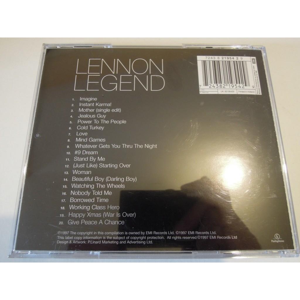john lennon lennon legend - the very best of