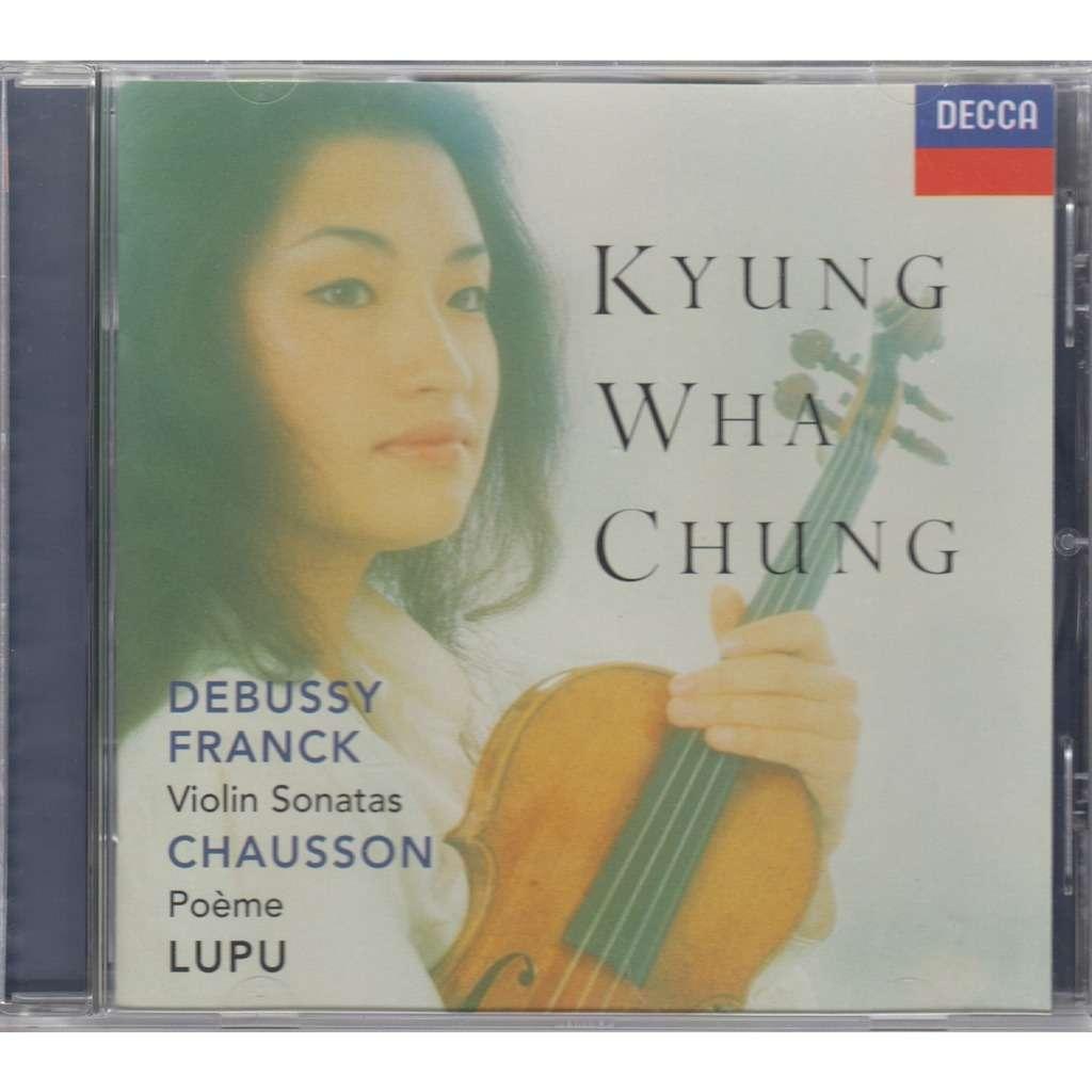 Debussy Franck Violin Sonatas Chausson Poeme Decca