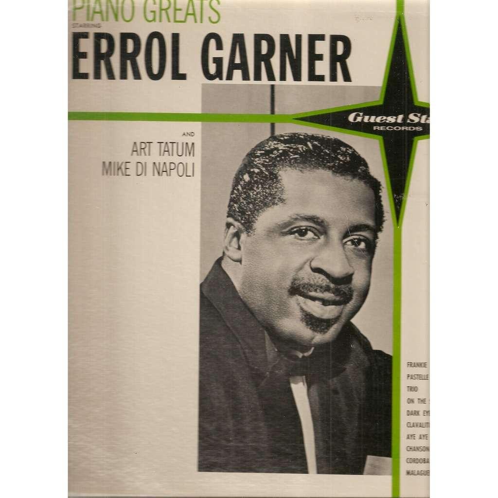 Errol Garner* and Art Tatum / Mike Di Napoli Piano Greats