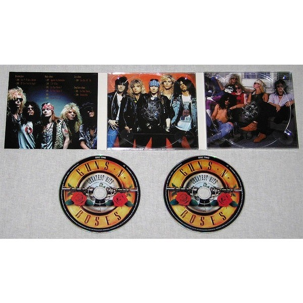 Greatest Hits Guns N Roses: Greatest Hits By Guns N' Roses, CD X 2 With Techtone11