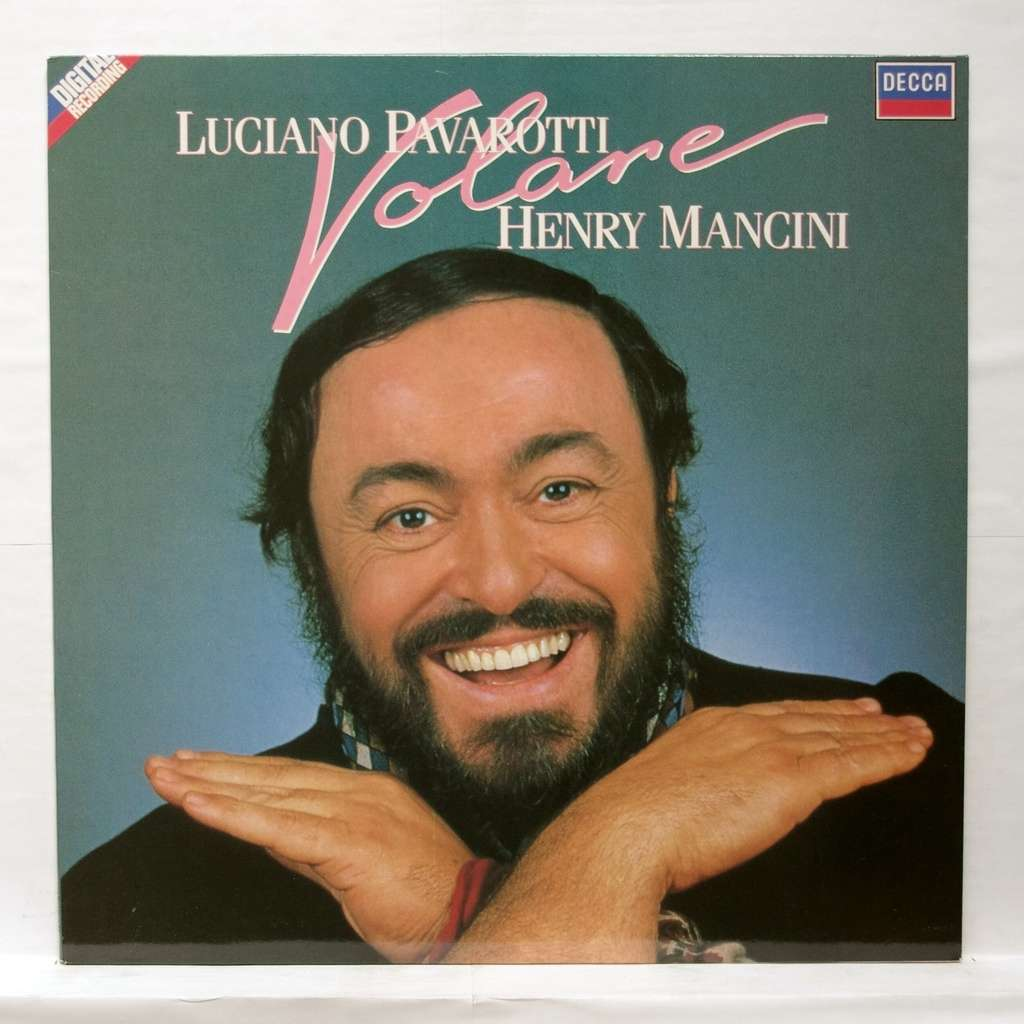 Volare Popular Italian Songs By Luciano Pavarotti Lp