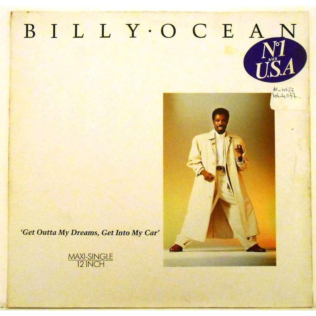 billy ocean get outta my dreams, get into my car